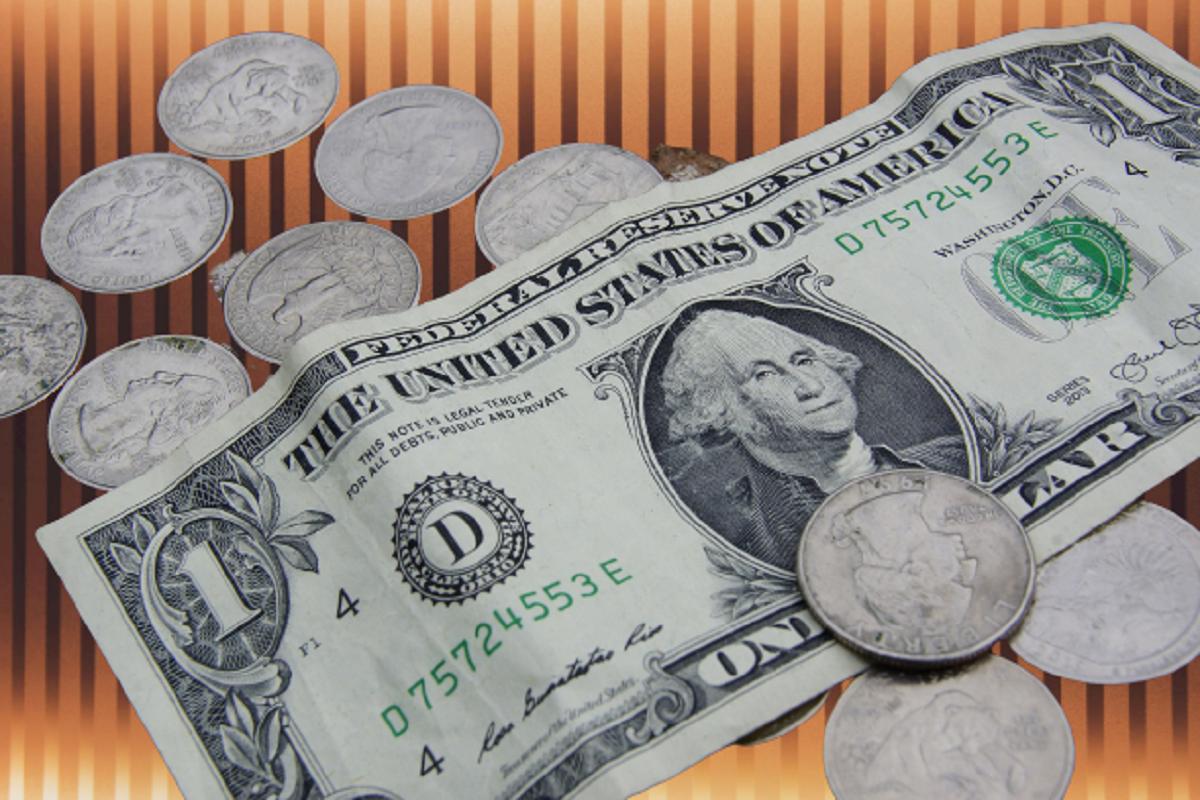доллар, монеты, валюта