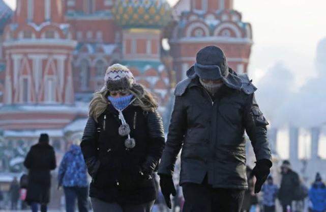 На Москву надвигаются сибирские морозы