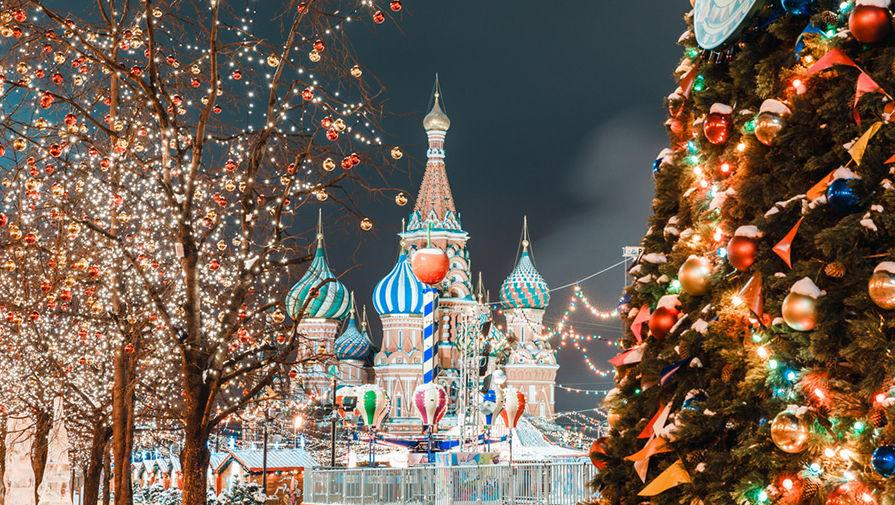 Рождество 2018 в Москве