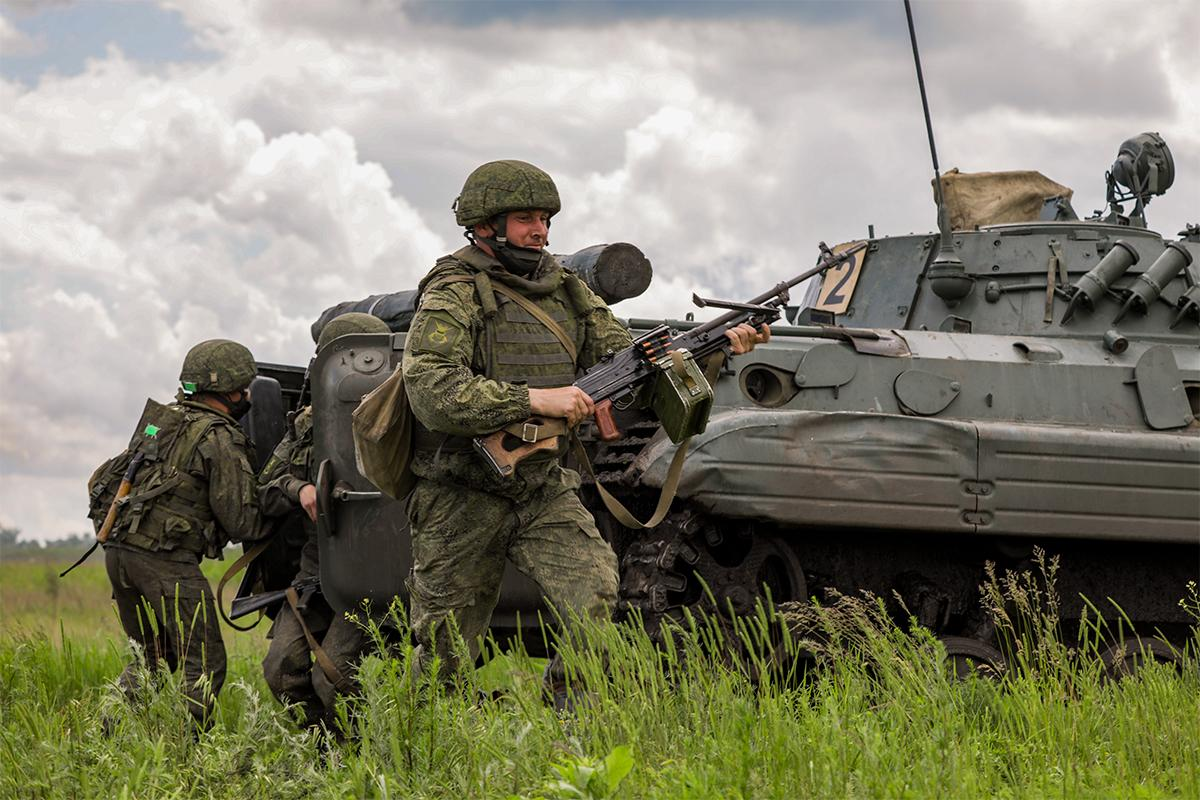 мотострелки, учения, армия