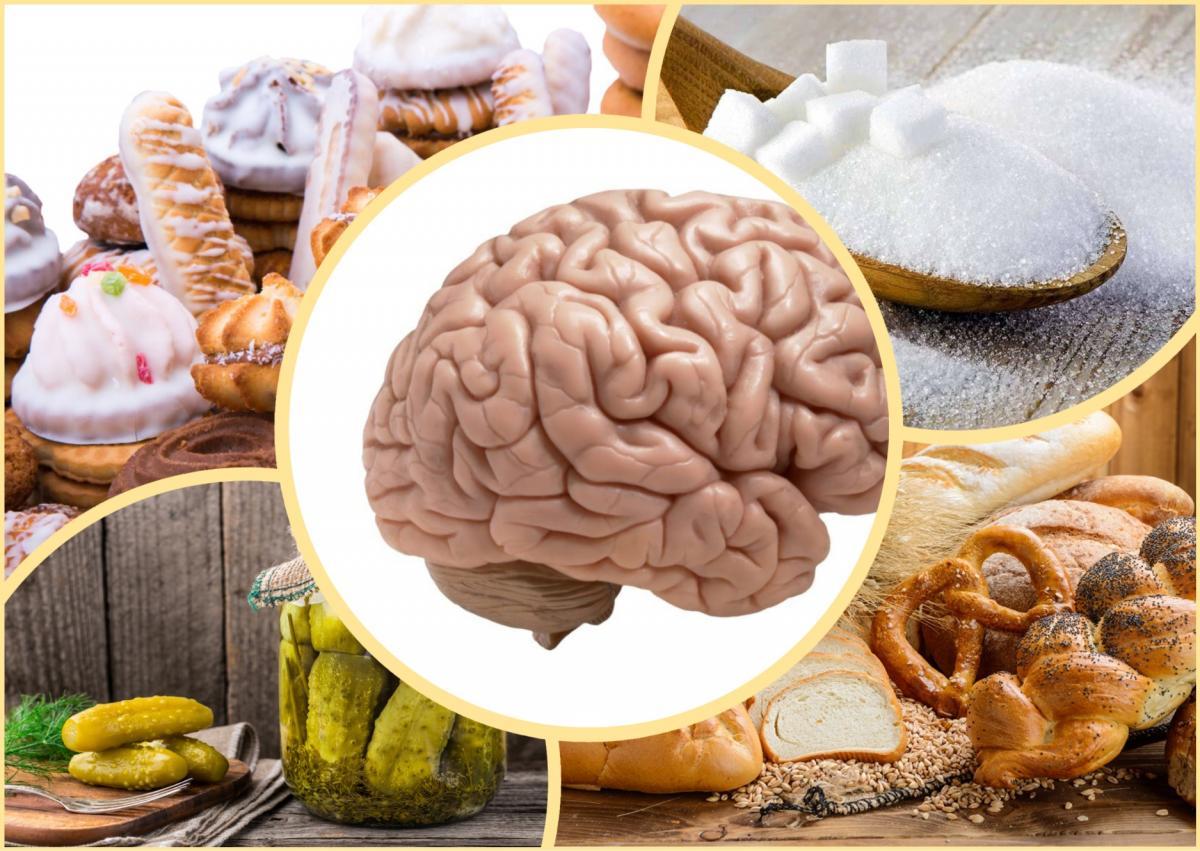 Продукты вредные для мозга