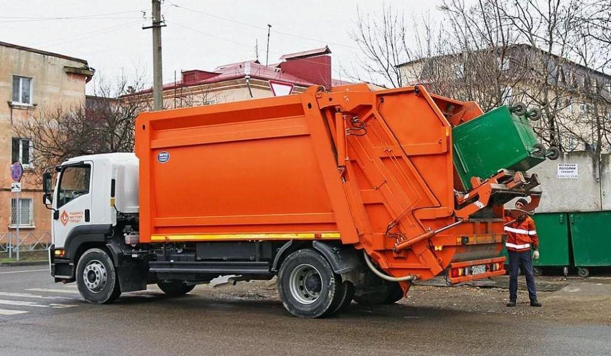 машина по вывозу мусора картинка