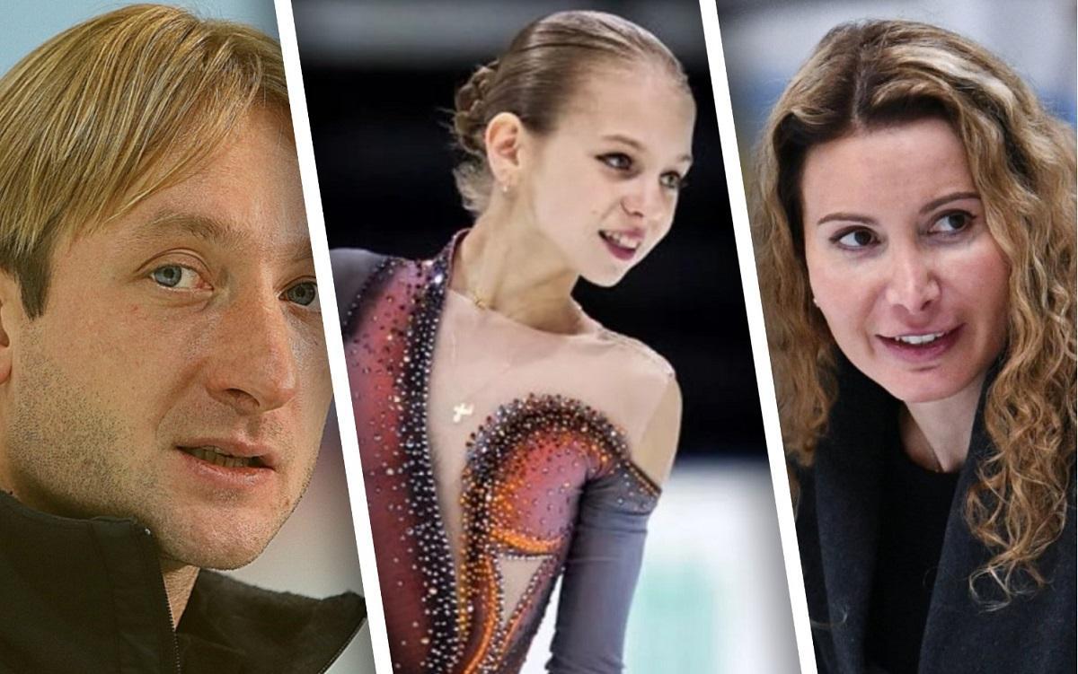 Плющенко сообщил о подборе суперспециалистов для работы с Трусовой