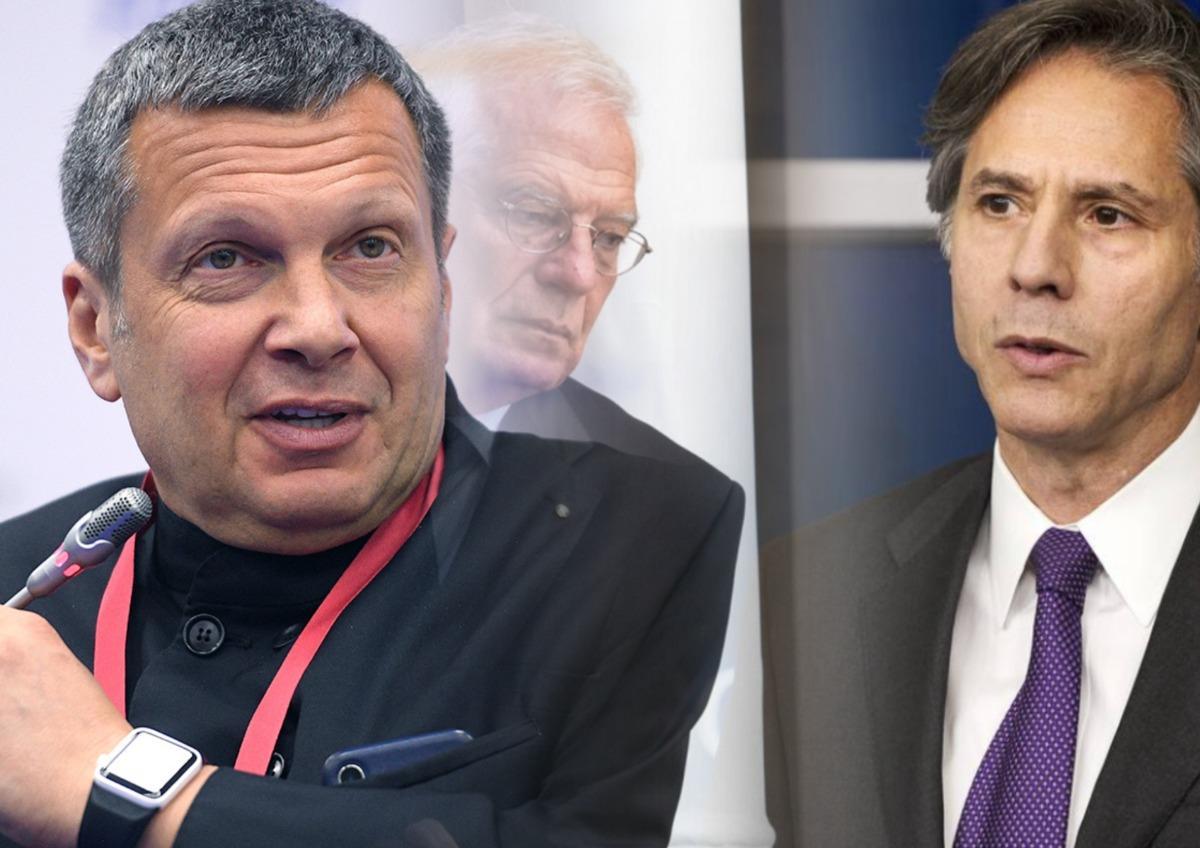 Соловьев призвал российские власти вводить санкции против Запада первыми