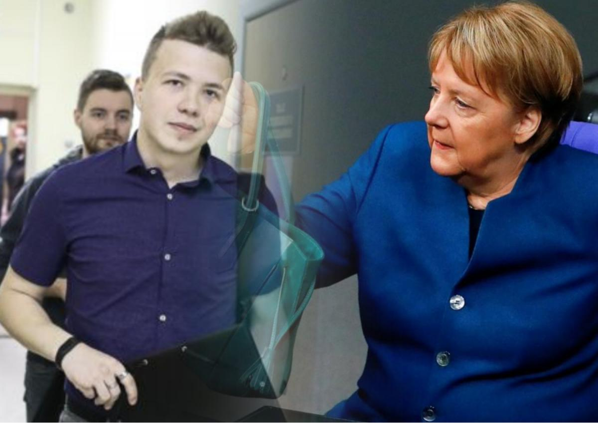 Родители Протасевича обратились к Меркель с просьбой помочь освободить их сына