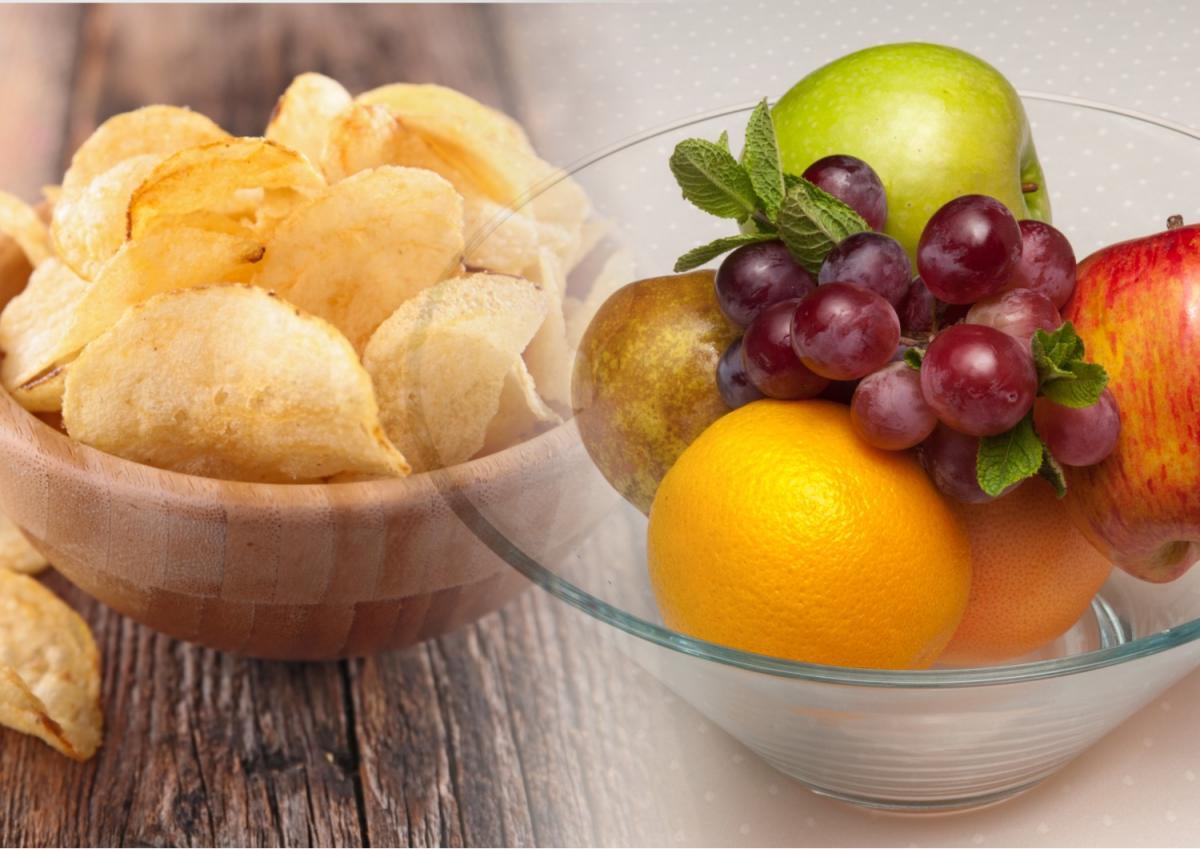 Диетолог рассказал, почему фрукты вреднее чипсов