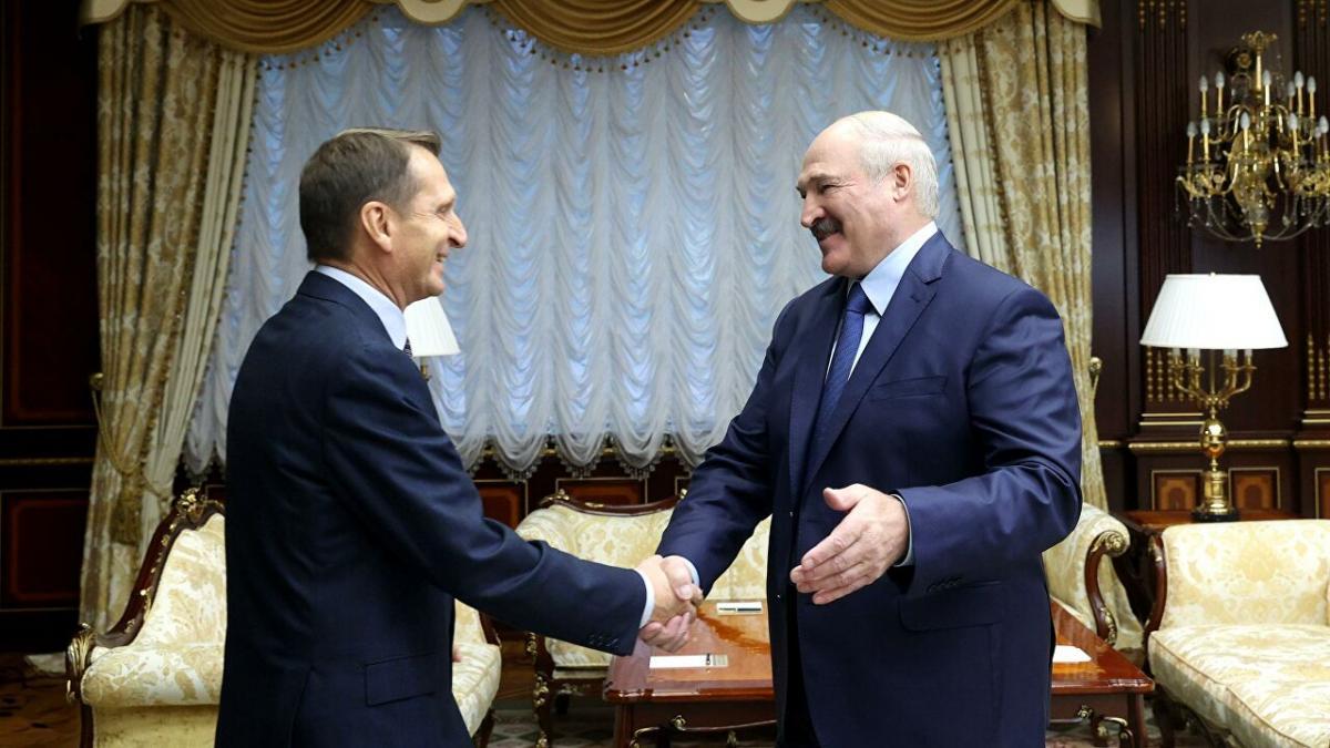 Нарышкин и Лукашенко