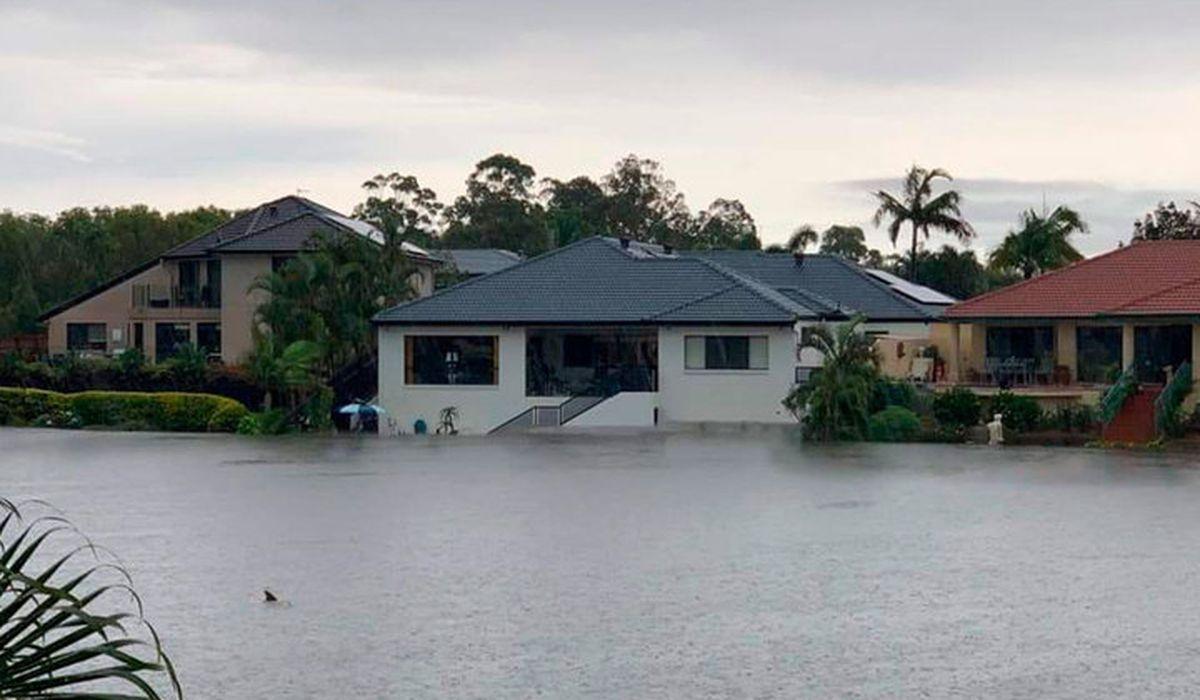 ливневые дожди привели к наводнениям в Австралии