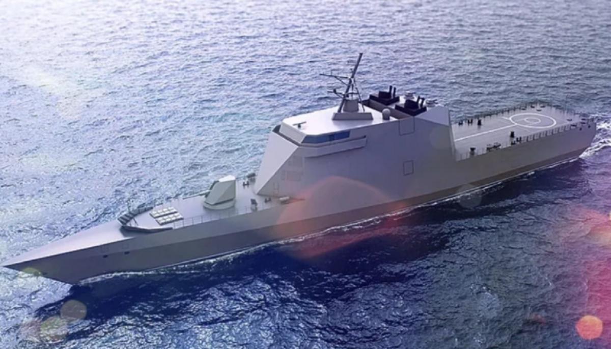 Российский корабль-невидимка
