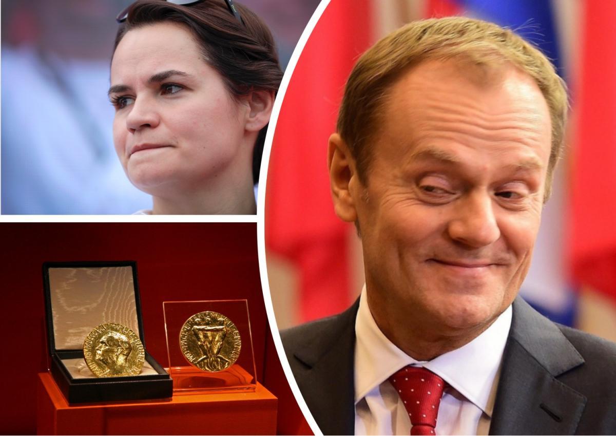 Туск Тихановская нобелевская премия