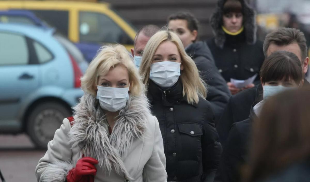 Ношение маски