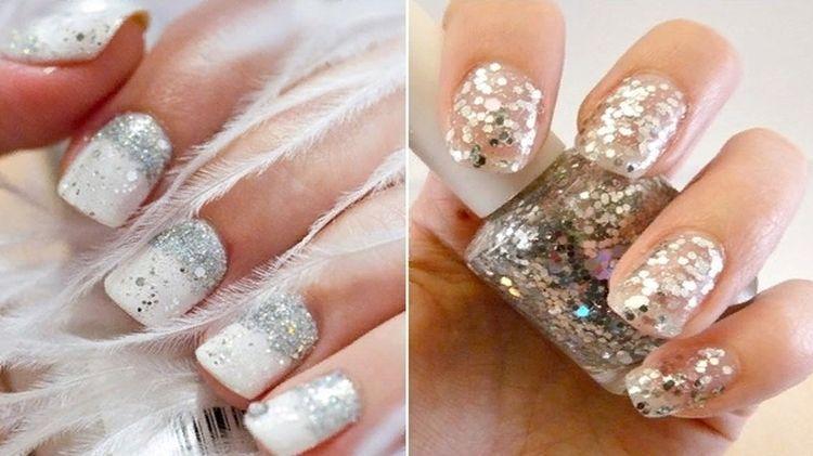 3728c05fd0d Новогодний маникюр 2019  красивый дизайн ногтей