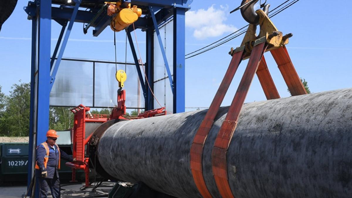 Газпром разбирает «транзитную трубу», - заявили на Украине