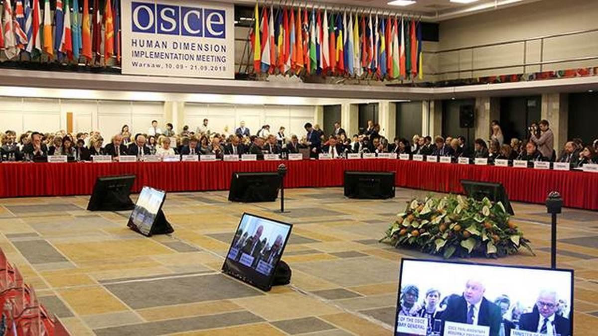 Украинская делегация пыталась сорвать выступление в ОБСЕ представителя Крыма