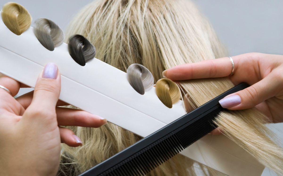 окрашивание волос картинка