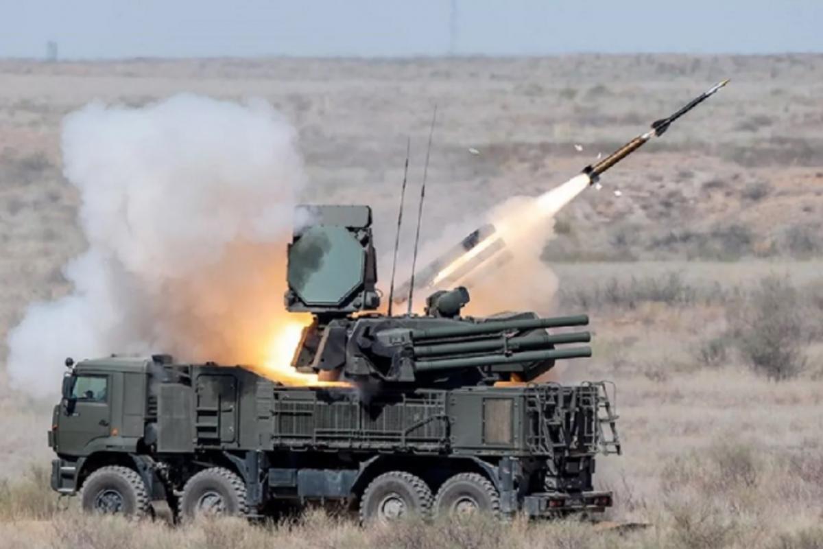 Панцирь-С1 защитил военную базу США в Ираке