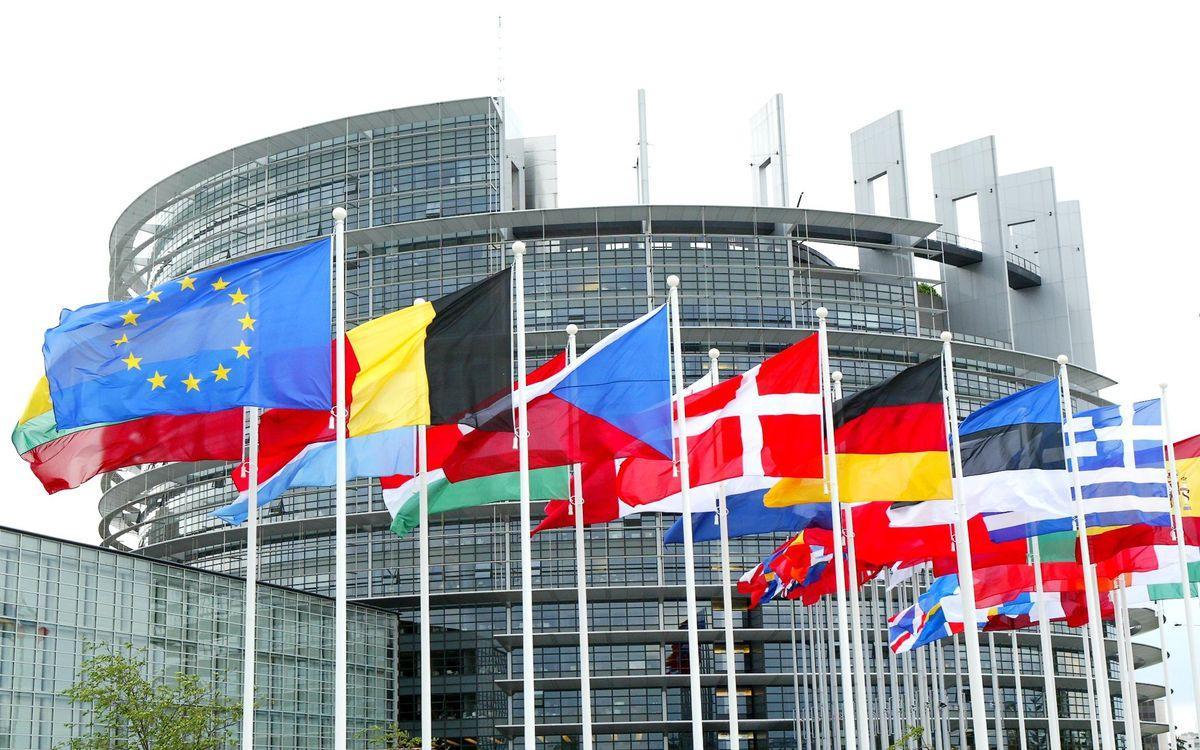 Европарламент в Брюсселе