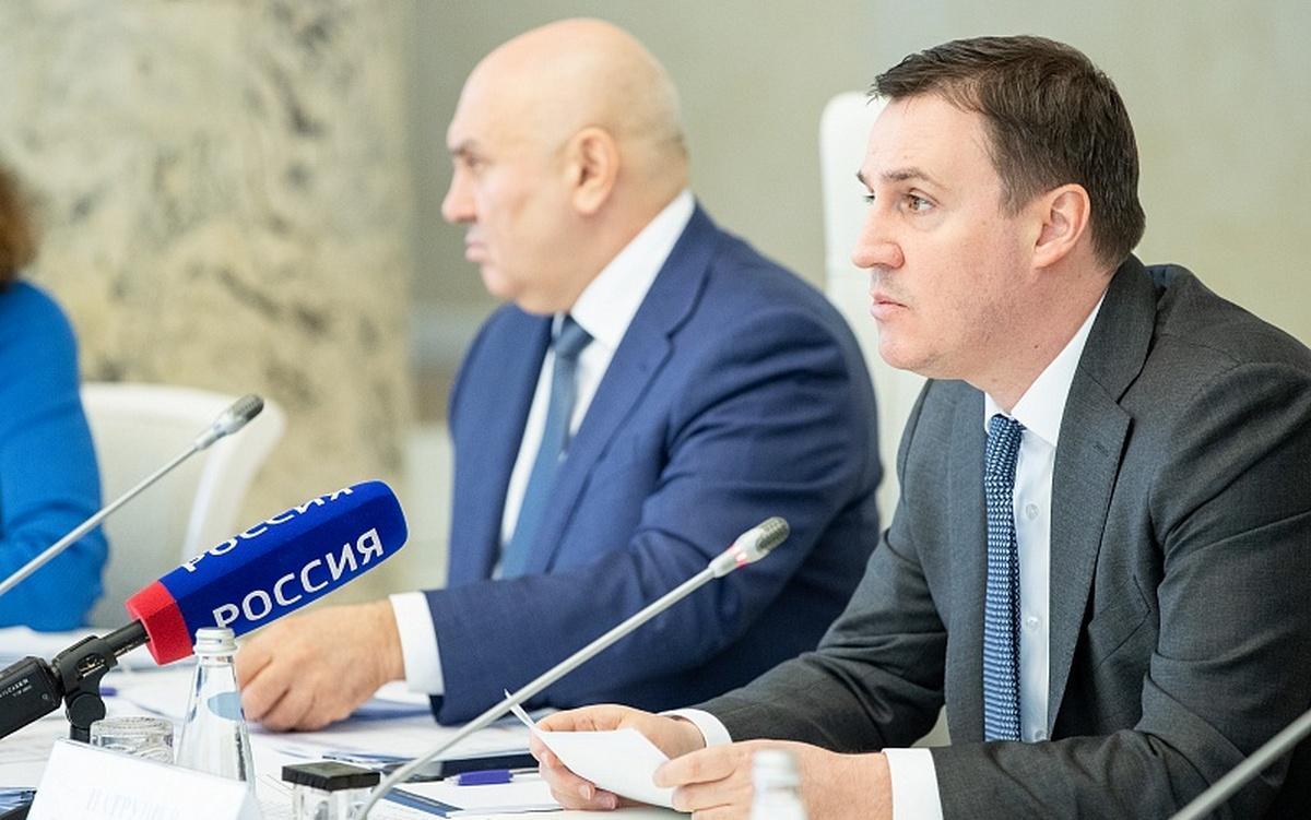 Дмитрий Патрушев на заседании Оперативного штаба