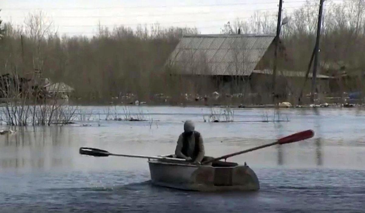 паводок в Якутске фото