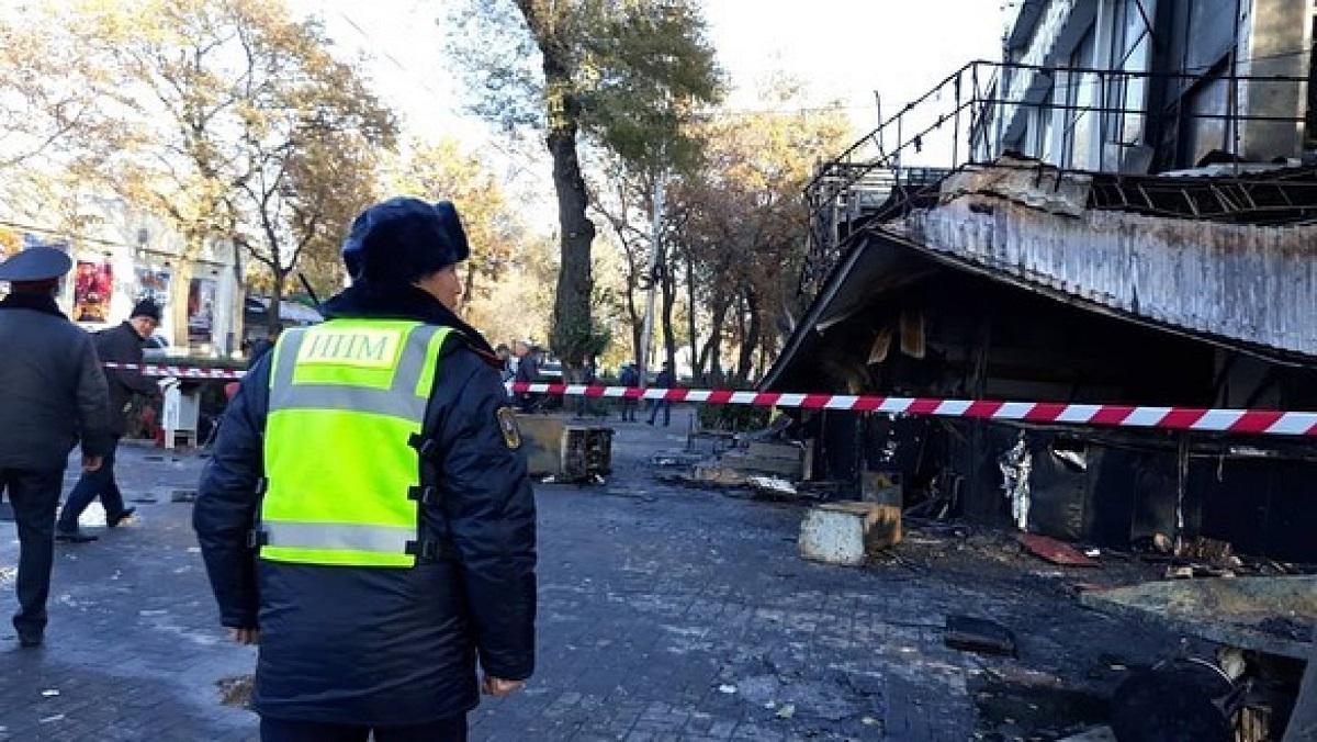 Взрывы в центре Бишкека - появилось видео с места происшествия