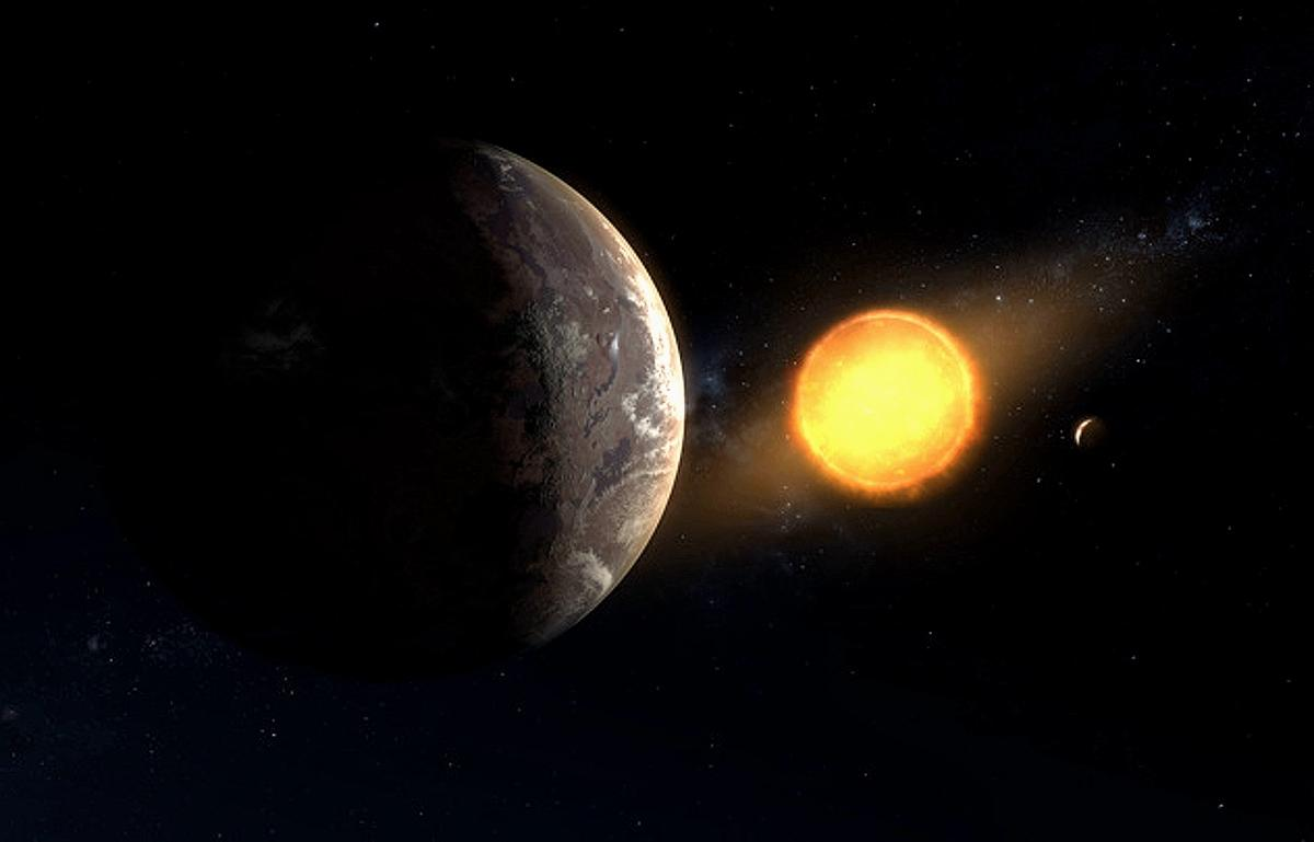 Планета, похожая на Землю