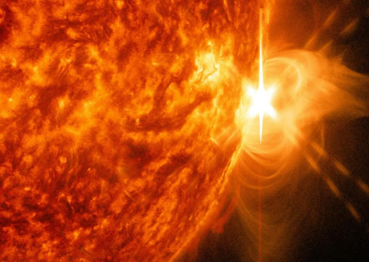 Солнце плазма