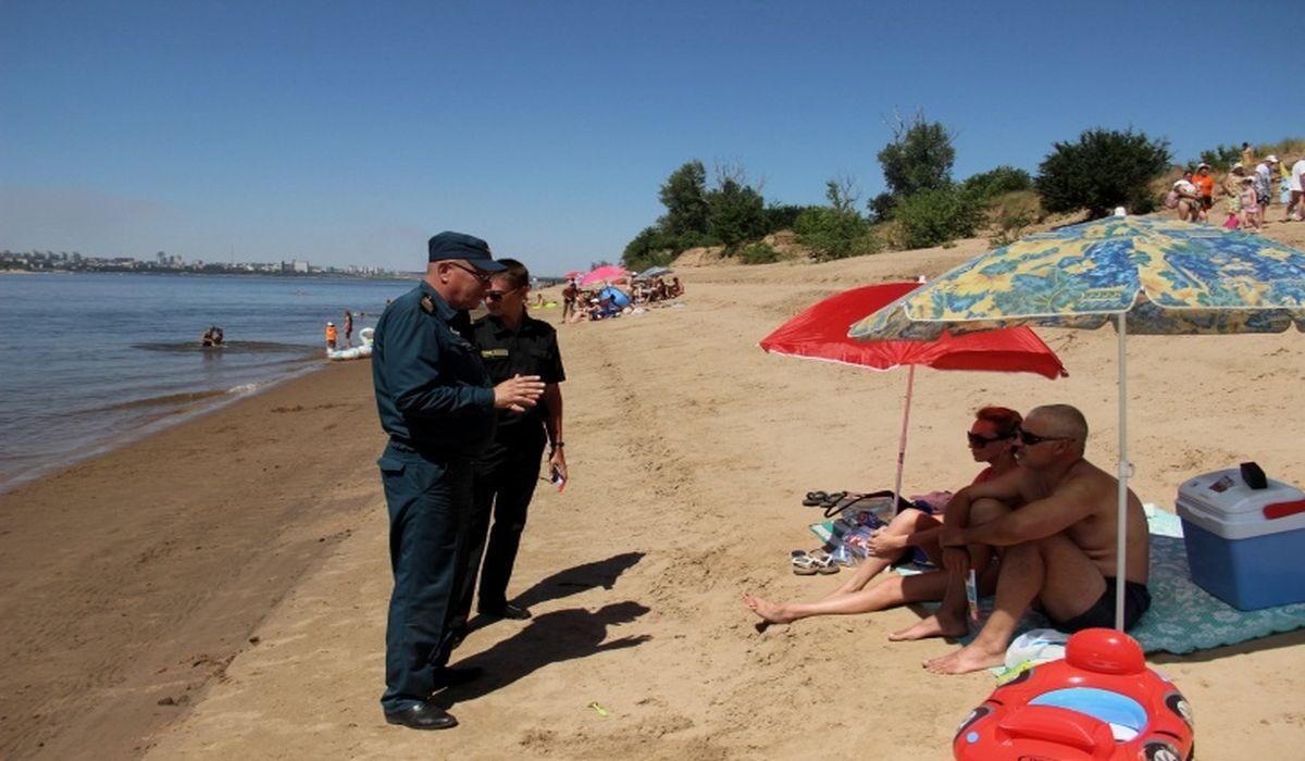 проверка дикого пляжа