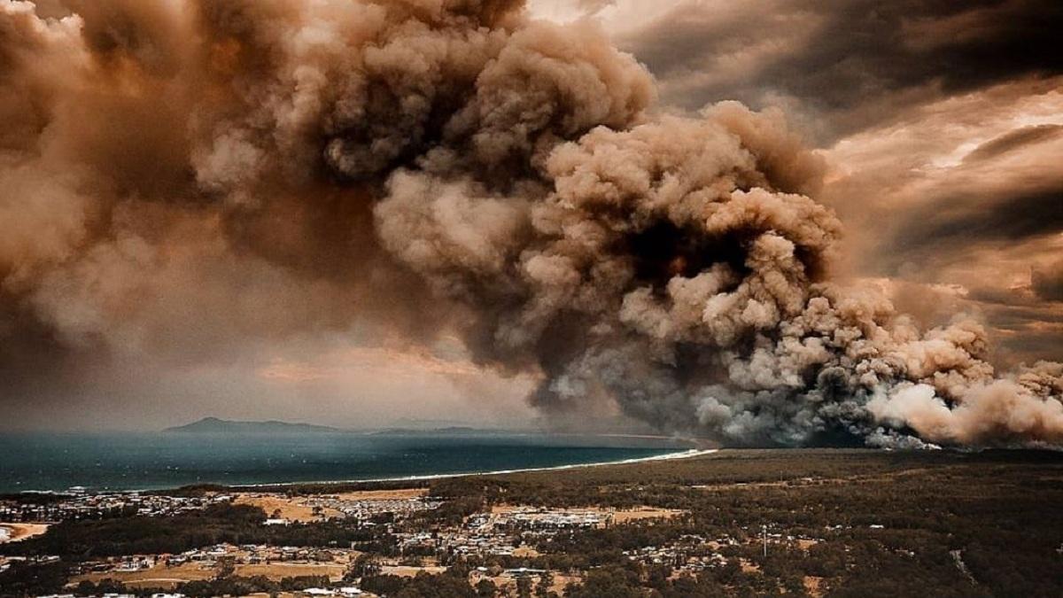 Фото последствий сильнейших природных пожаров в Австралии опубликовали в сети