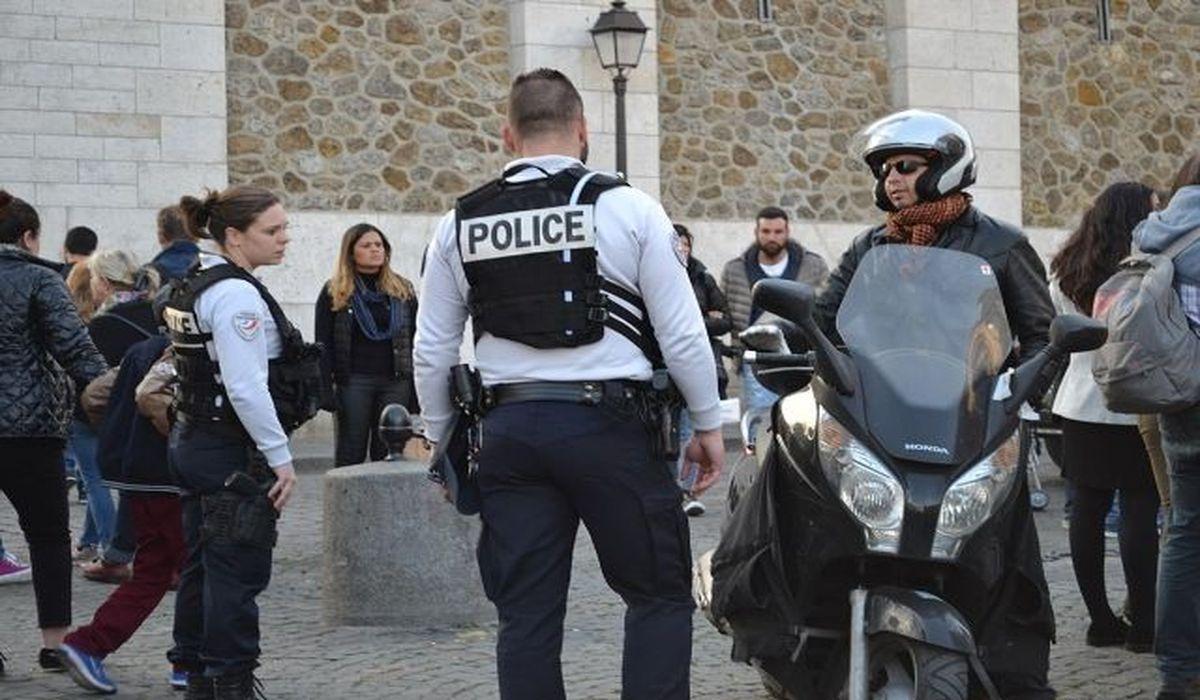 полиция на улицах Франции
