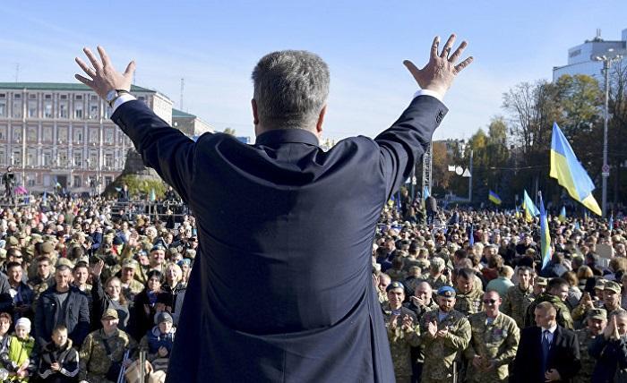 Порошенко заявил о возможном введении о 13-й пенсии на Украине
