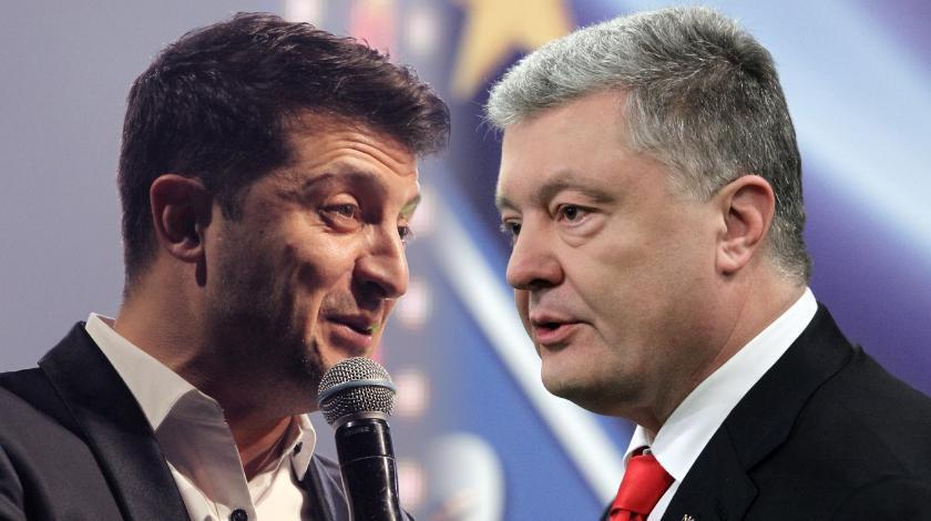 Дебаты Зеленского и Порошенко не состоялись