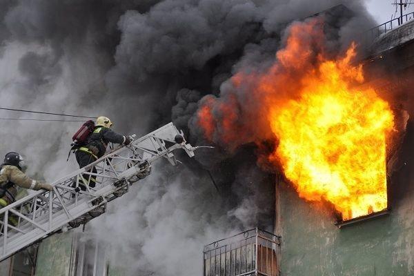Пожар в элитном доме Москвы: семеро погибших