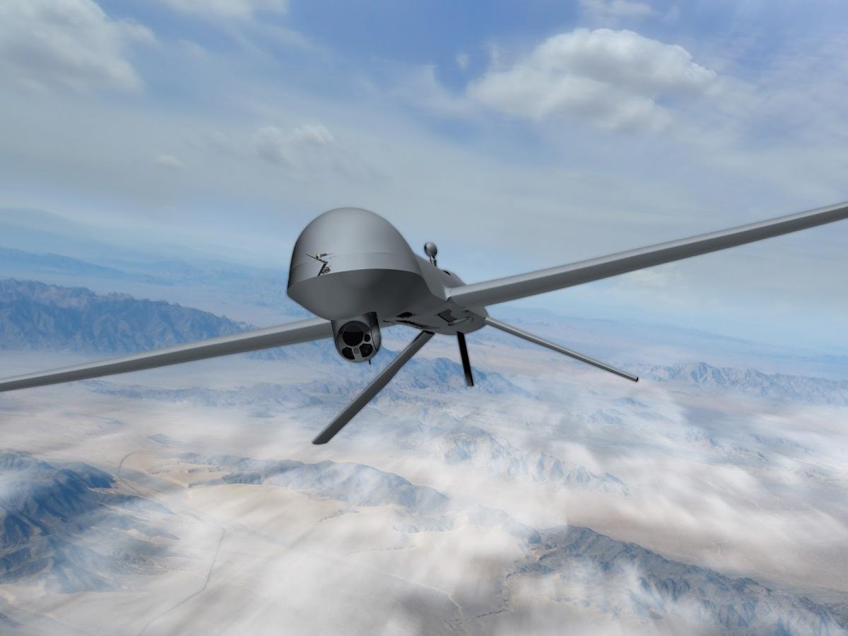 Американские дроны перебазировали поближе к России