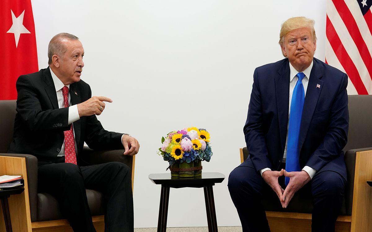 """Эрдоган заявил, что не готов отказаться от С-400 в пользу американских систем """"Patriot"""""""