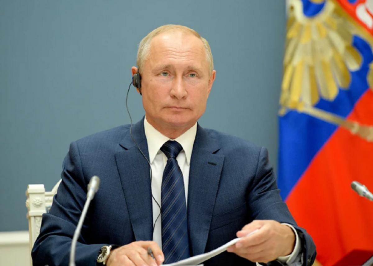 Глава России Владимир Путин