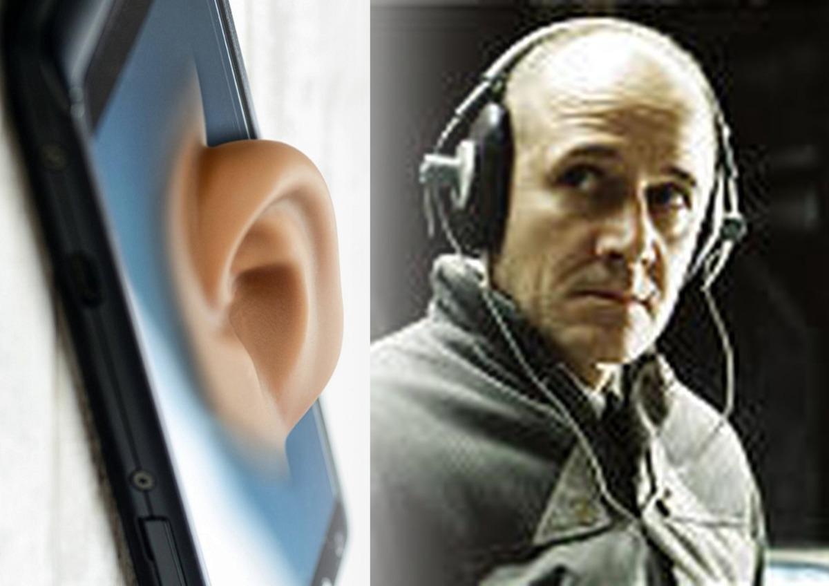 Прослушка смартфон человек
