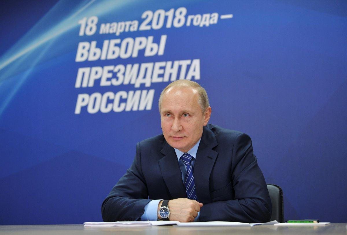 Кремль раскрыл, почему Путин не участвовал в дебатах перед выборами