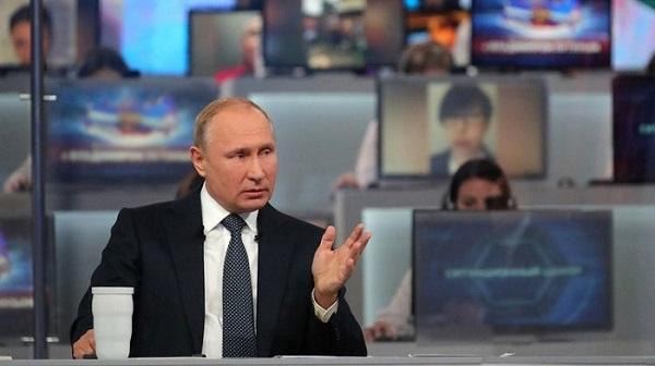 ВЦИОМ: рейтинг доверия Путину снизился до исторического минимума
