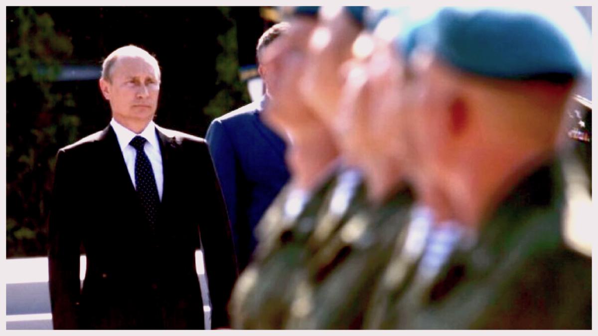 Путин и десантники