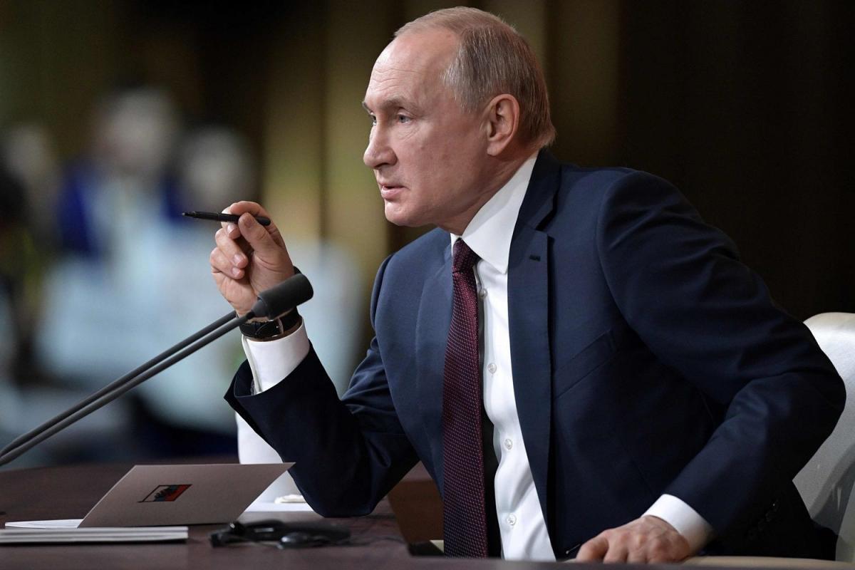 Путин выступление