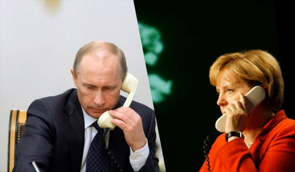 Между Путиным и Меркель состоялся телефонный разговор