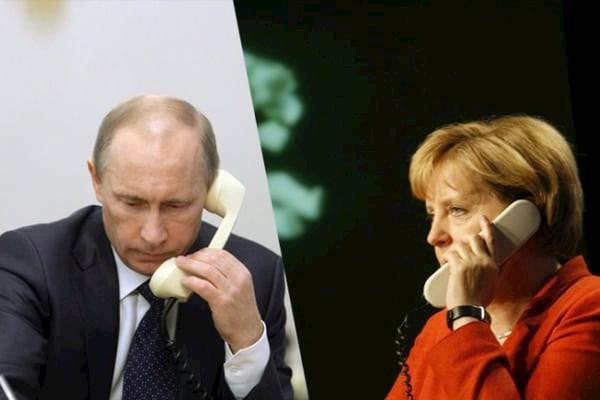 Путин_Меркель_телефонные_переговоры
