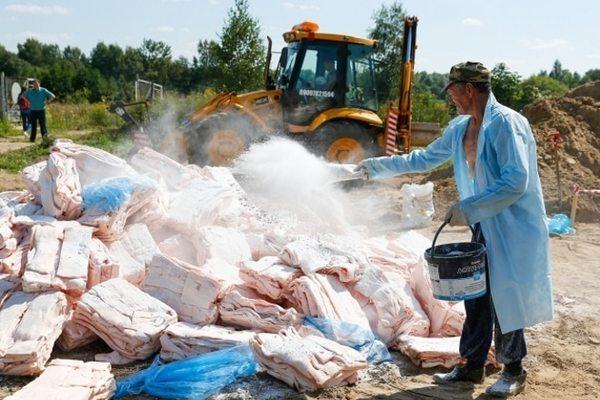 Путин объяснил причину уничтожения санкционных продуктов