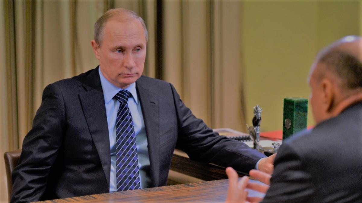 Путин и Потанин