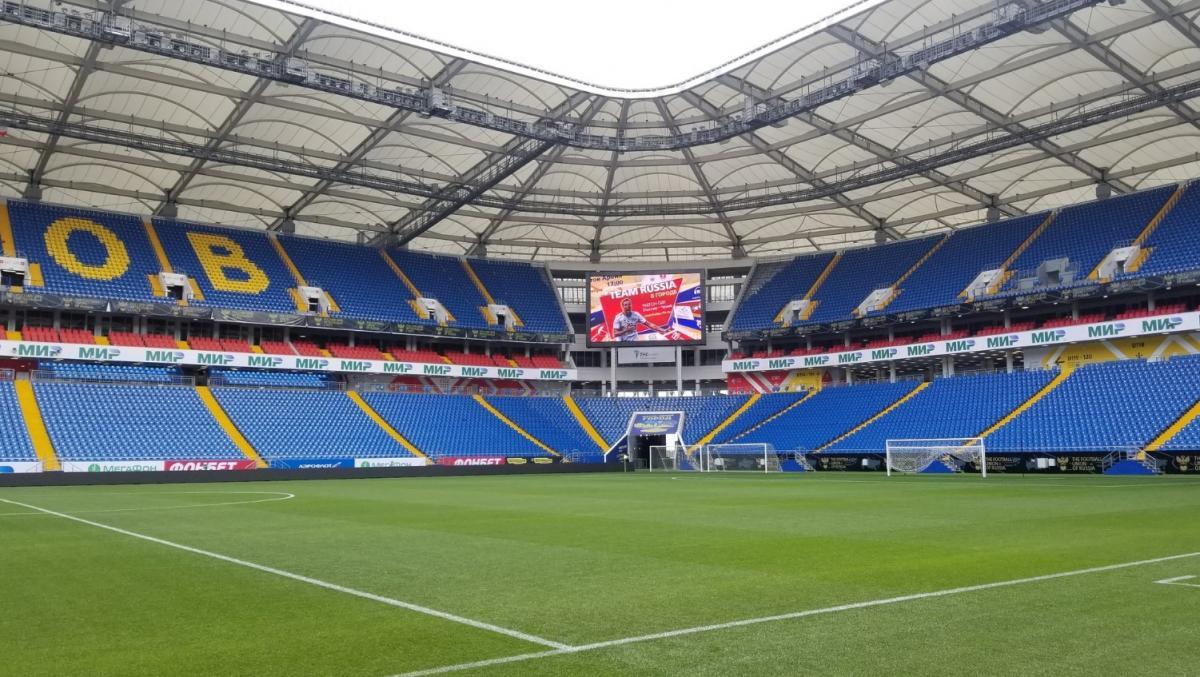 «Ростов-Арена» готова к товарищескому матчу Россия - Чехия