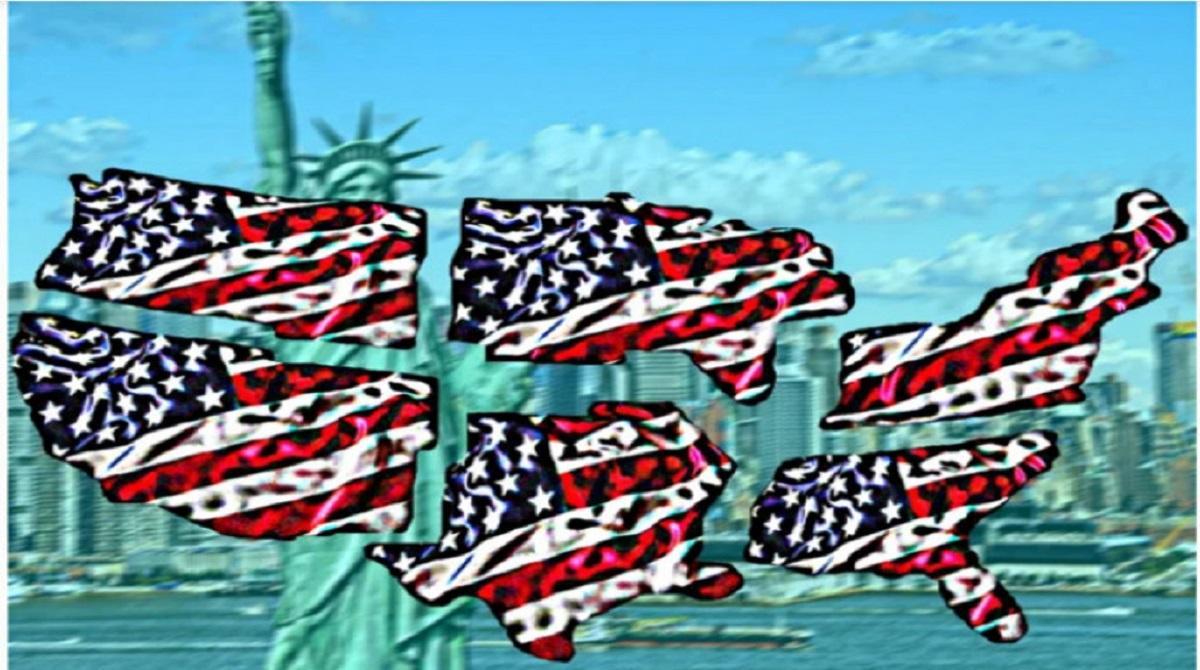 Распад США