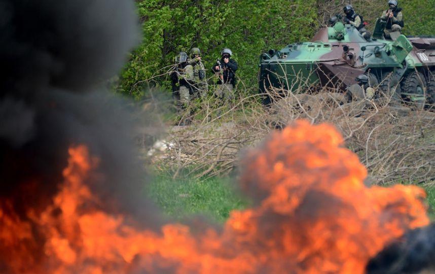 ДНР: Украинские силовики пошли в атаку под Донецком и Горловкой