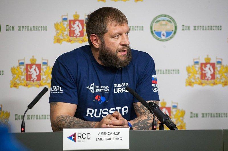 Александр Емельяненко получил новый бой сразу после разрыва контракта с RCC