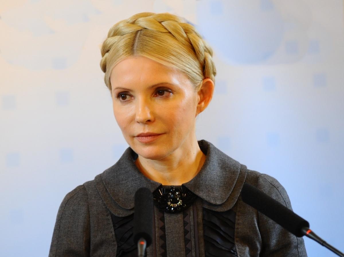 Юлия Тимошенко, Украина, газ