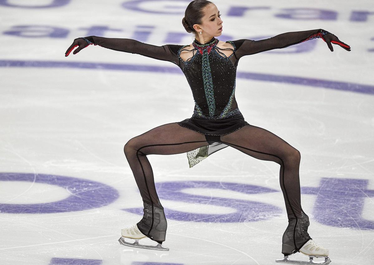 Камила Валиева на Finlandia Trophy